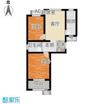 东方红二期花园洋房C户型