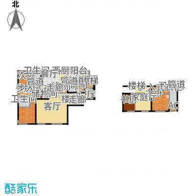 中央悦城E1户型