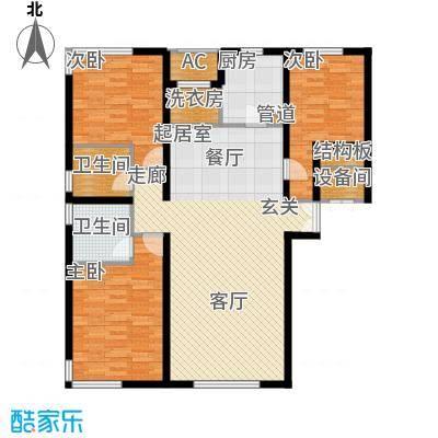 中央悦城C3户型