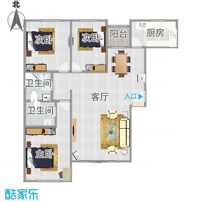 L1三室两厅