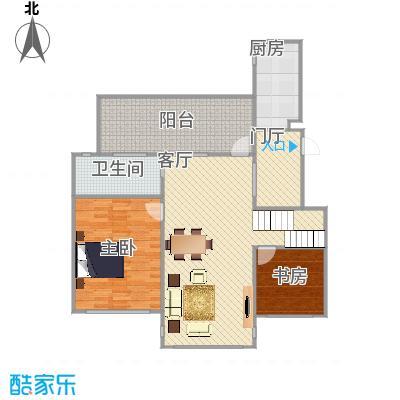 122平两室一厅