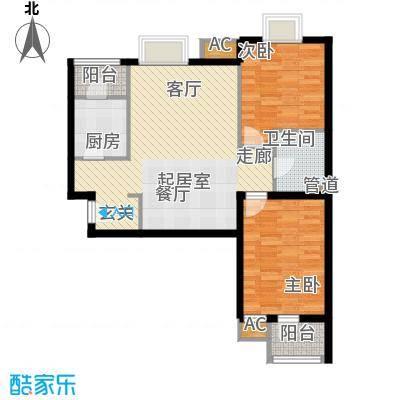 中景盛世长安92.41㎡浮香草堂(面积9241m户型