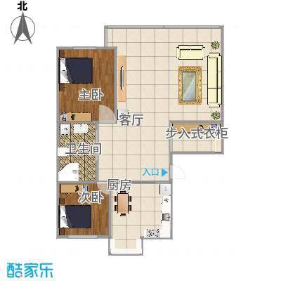 100平两室两厅