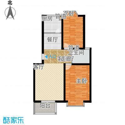 天然城99.00㎡杨柳春风1面积9900m户型