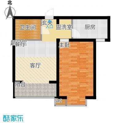 高新香江岸D1户型