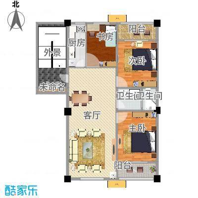 三室1厅1卫