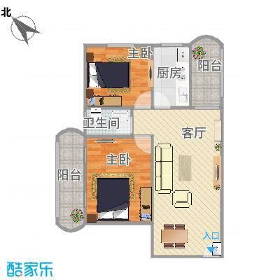 天龙花园B269.75两房