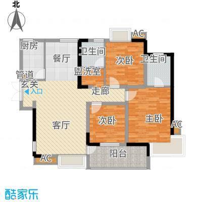 世纪城龙佑苑138.00㎡面积13800m户型