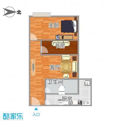 利和国际公寓64方一室一厅