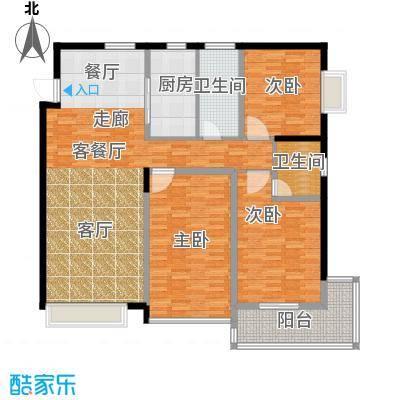 龙洲新城4号楼1-03户型