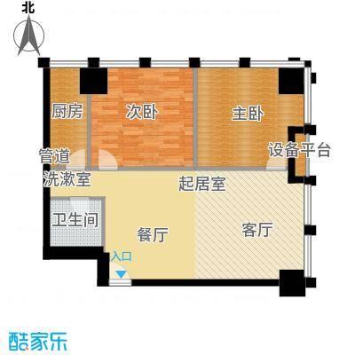 中基国际公馆23号楼D-02户型