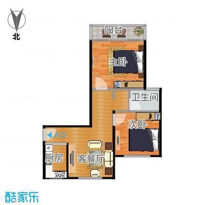 大宁龙盛雅苑64平米2房