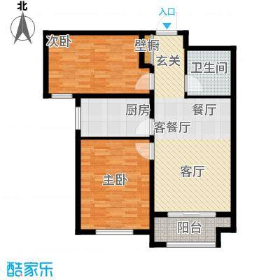 花香漫城4#H户型