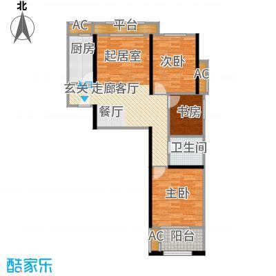 西溪诚园1号楼标准层C3户型