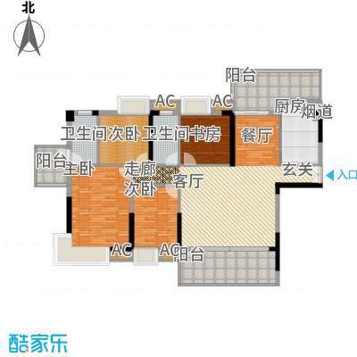 荣爵馆138.11㎡9、11栋5-15奇数层面积13811m户型