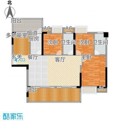 荣爵馆98.70㎡9-11栋5-15奇数层面积9870m户型