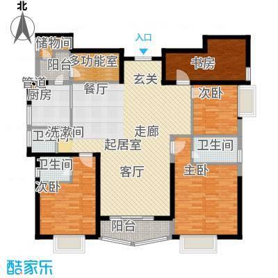 豪景苑168.87㎡面积16887m户型