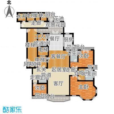 天阳御珑湾6号楼A豪华三居户型