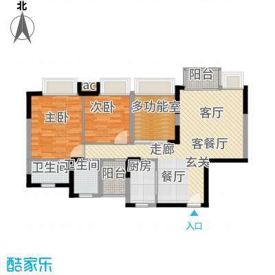 新世纪亦居别墅475.00㎡新世纪亦面积47500m户型