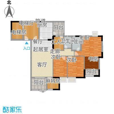 豪景苑148.30㎡面积14830m户型