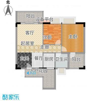 丽竣豪庭二期领寓147.00㎡丽竣豪面积14700m户型