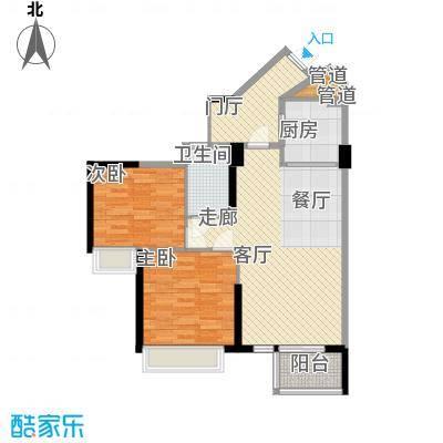 天御86.30㎡5号楼2-28层02、05号面积8630m户型