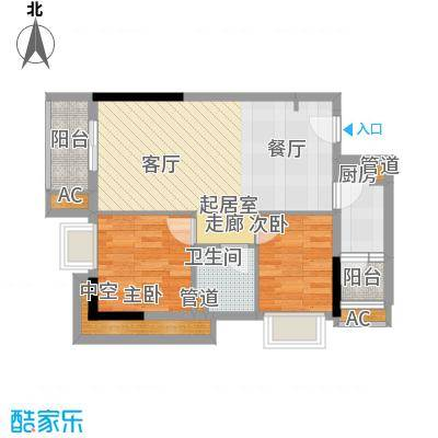 万科运河东1号公寓户型