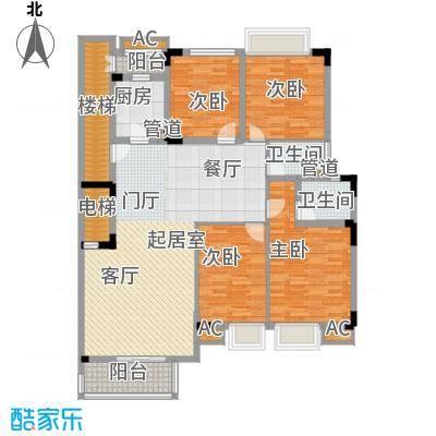 金丰花园(万江)136.00㎡万江金丰面积13600m户型