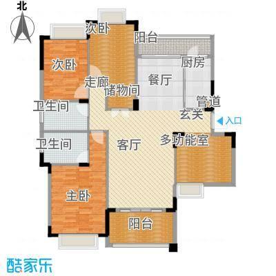 水岸豪庭139.45㎡23、26幢(101+面积13945m户型
