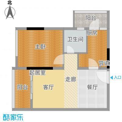 中惠新城87.00㎡面积8700m户型