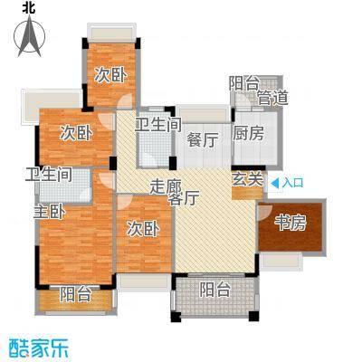 水岸豪庭148.96㎡24幢面积14896m户型