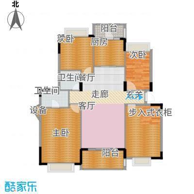 水岸豪庭154.43㎡25幢面积15443m户型