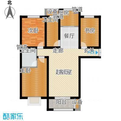 海棠湾5#标准层D2户型