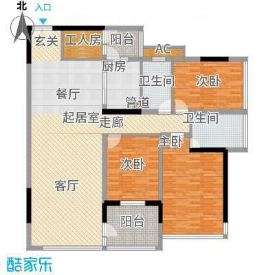 中惠新城145.00㎡面积14500m户型