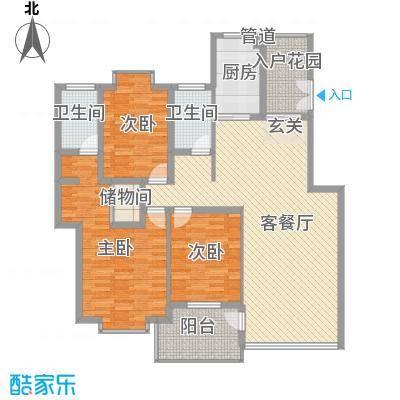 龙新雅居105.00㎡面积10500m户型