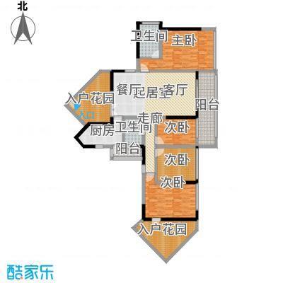 中惠新城158.00㎡面积15800m户型