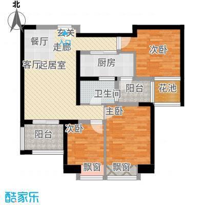 新基商住楼95.00㎡面积9500m户型