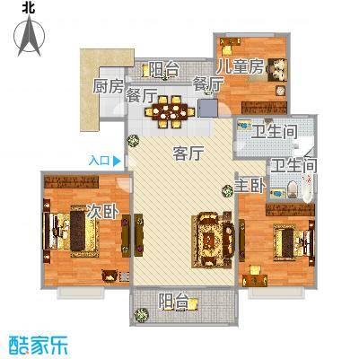 阳城美景128三房