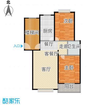 龙源星城102.00㎡二房一厅一卫-104平方米-55套户型