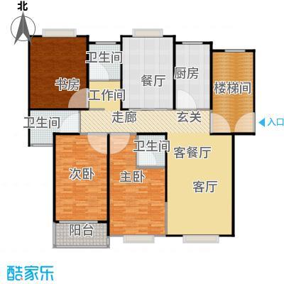 龙源星城170.00㎡三房二厅三卫-170平方米-25套户型