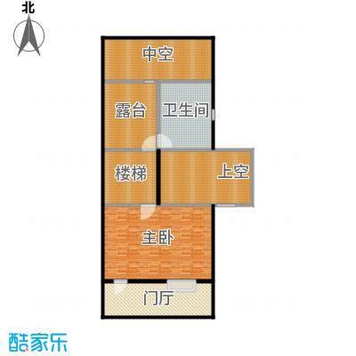万科第五园(B-nd)地上三层户型1室1卫