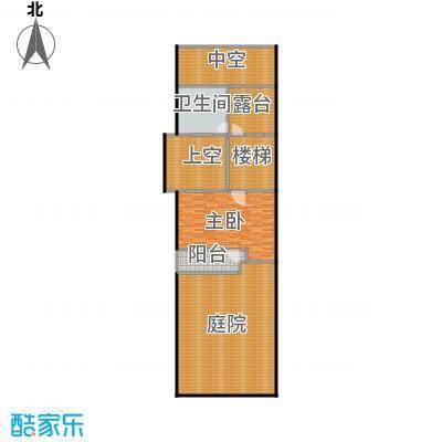 万科第五园A-nd地上三层户型1室1卫