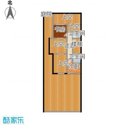 万科第五园A-nd地上二层户型2室2卫