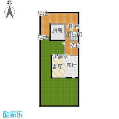 万科第五园(B-sd)地上一层户型1卫1厨