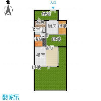 万科第五园(B-nd)地上一层户型1卫1厨