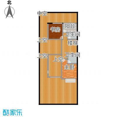 万科第五园(B-sd)地上二层户型2室2卫