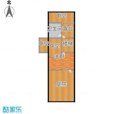 万科第五园(B-sd)地上三层户型1室1卫