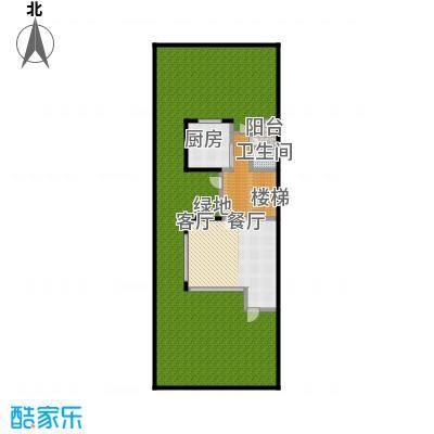 万科第五园(A-sd)地上一层户型1卫1厨
