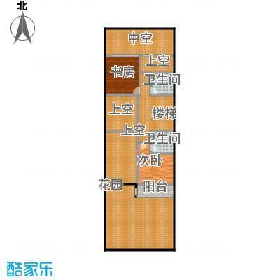 万科第五园(B-n)地上二层户型2室2卫