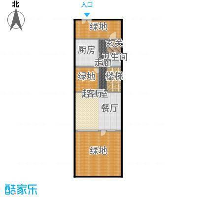 万科第五园(B-n)地上一层户型1卫1厨